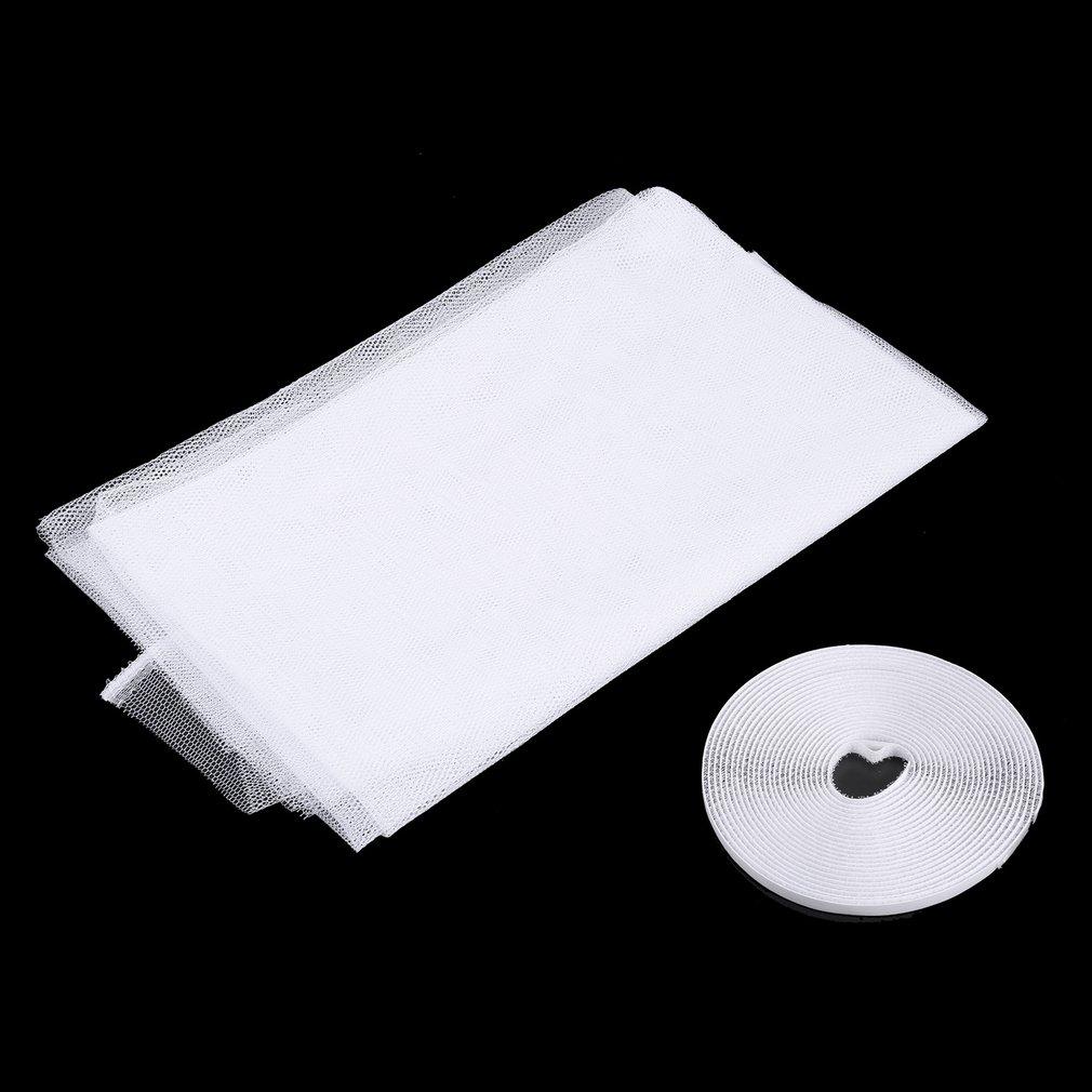130x150cm Anti Mosquito Door Window Net Mesh Cloth Curtain Protector Flyscreen Door Screen Summer Style Mesh Net