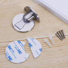 Уплотненный Магнитный бампер для двери из нержавеющей стали
