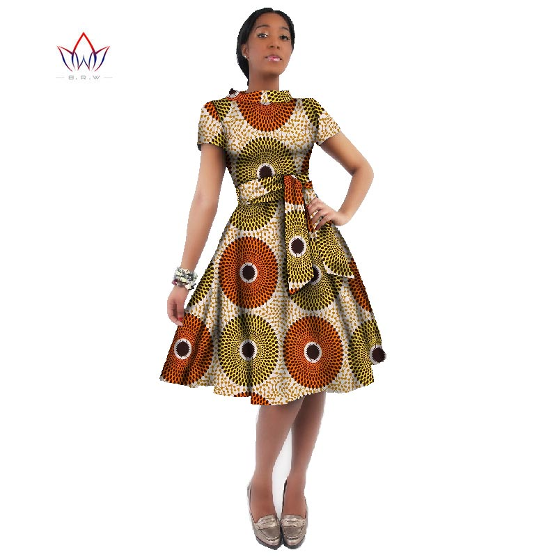Оптовая продажа Африканское платье для женщин платья с Африканским