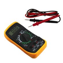Portable Digital Multimeter Backlight AC/DC Ammeter Voltmeter Ohm Tester Meter XL830L Handheld LCD Multimetro Voltage Current стоимость
