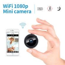 2,0 MP Protable Mini IP Kamera WiFi 1080P HD Kleine Sicherheit Kamera Drahtlose Batterie Kamera Nachtsicht Auto Überwachung kamera