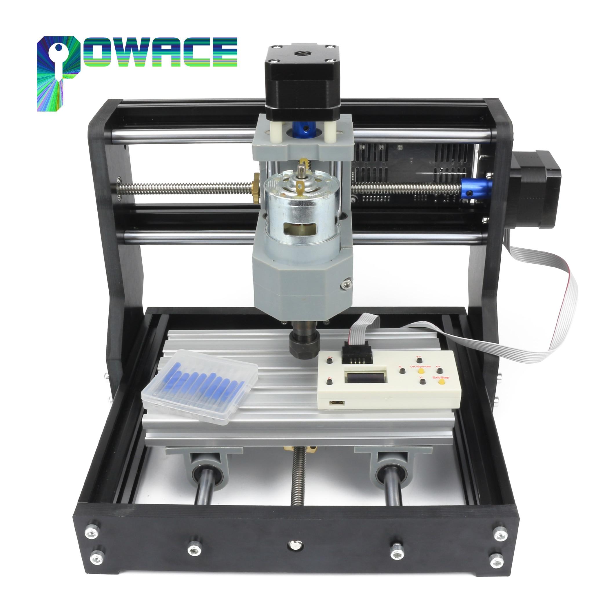 Контроллер GRBL DIY 1610 Pro, мини-станок с ЧПУ, рабочая зона, 3-осевой фрезерный станок для печатных плат, ПВХ, фрезерный станок, фрезерный станок дл...