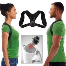Adjustable Posture Corrector for Women Men - Comfy Strap Shoulder Brace for Neck and Back Pain Relief - Promotes Spine Alignment