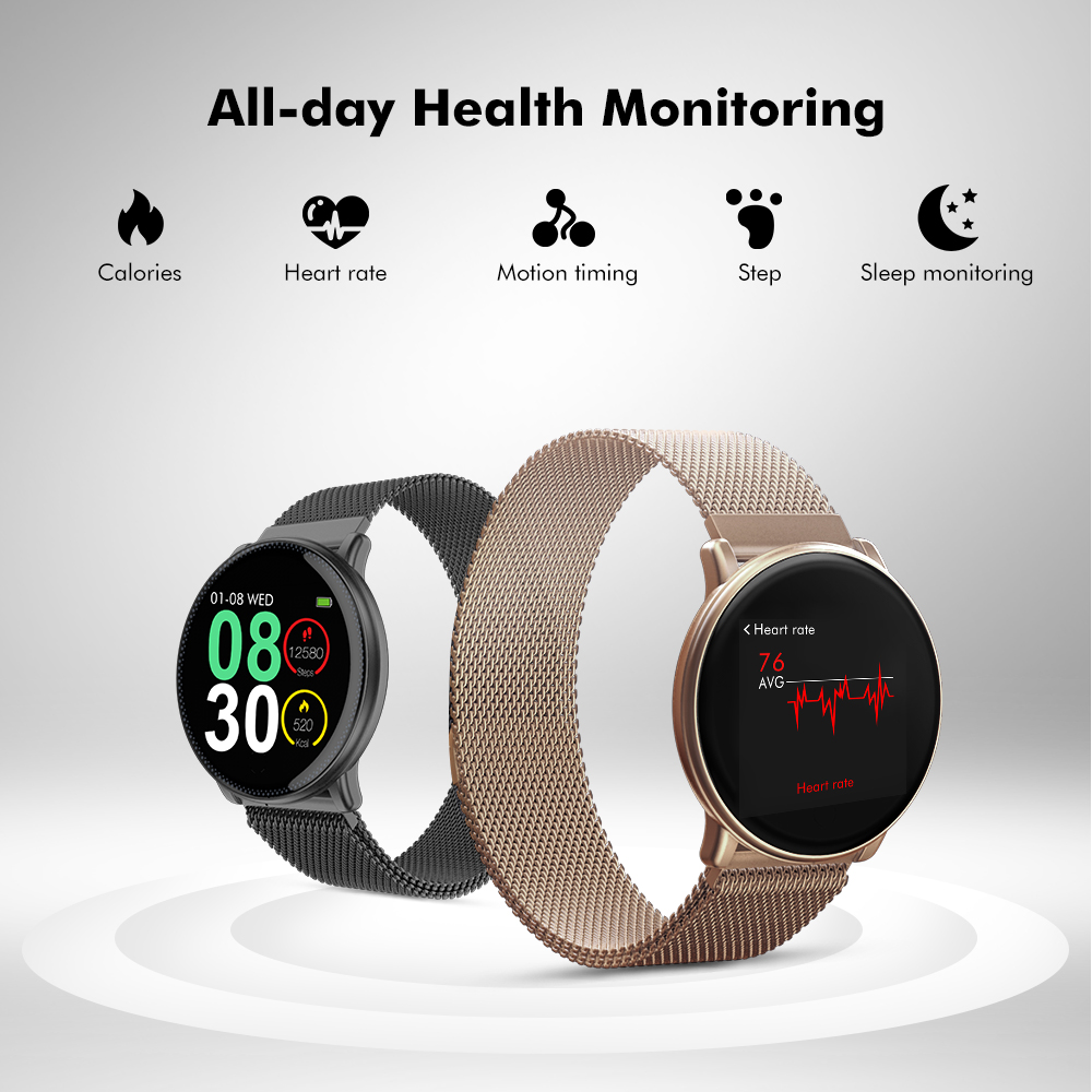 Image 4 - UMIDIGI Uwatch2 Man Smart Watch Women Android IOS Waterproof IP67  1.33 Full Metal Touch Screen 7 Sport Modes Heart Rate MonitorSmart  Watches