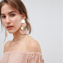 Vintage Earrings Dangly Boho Jewelry Long For Women Bohemian Drop Dvacaman Geometric