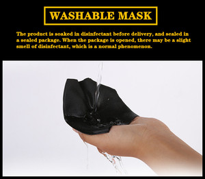 Image 4 - High end mens dust mask Soft Breathable Comfortable Crease proof Colorfast Anti Pilling No iron Super elastic Adult Children