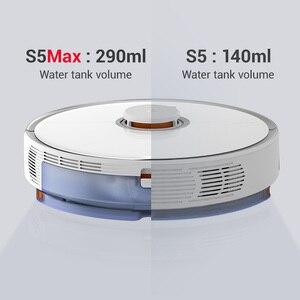 Image 2 - Roborock s5max ロボット掃除機グローバルスマート計画ルート app 制御ワイヤレス/コードレス家庭用自動スイープとモップ
