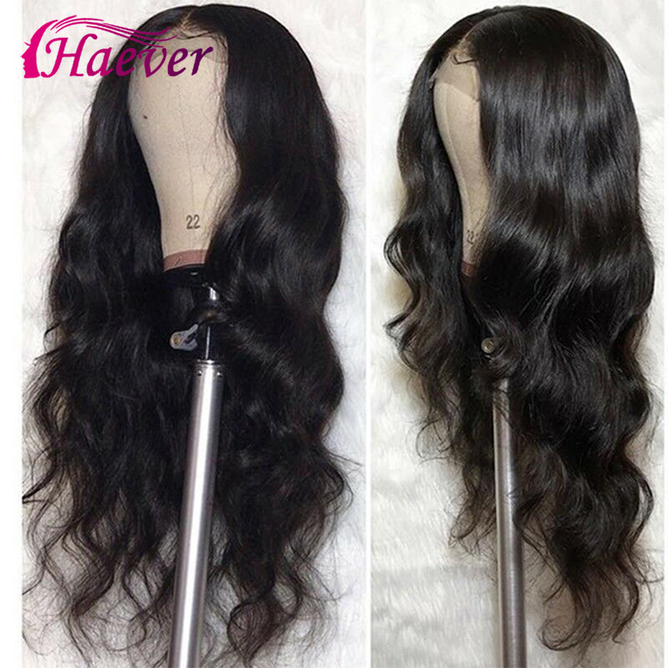 Haever Peruvian Body Wave Wig 13*5 Closure Wig Human Hair Lace Frontal Wigs For Black Women Pre Plucked Remy 150% Lace Front