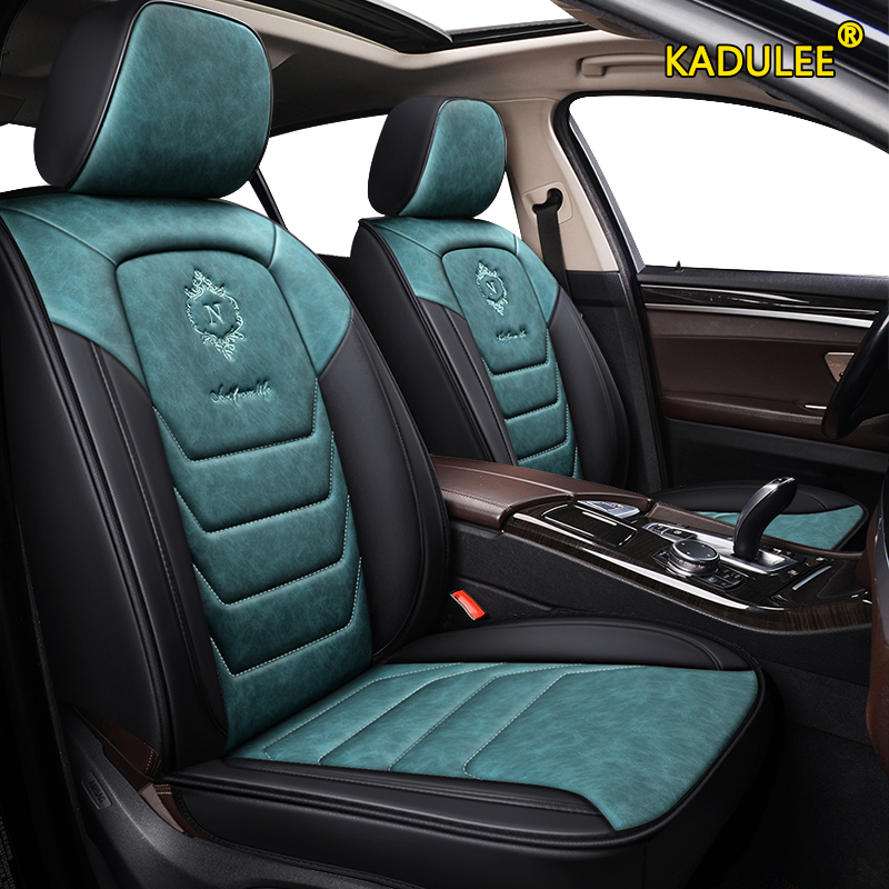 KADULEE leather car seat cover For peugeot 207 201 301 307 sw 508 sw 308 206 4007 2008 5008 2010 3008 607 507 accessories seat image