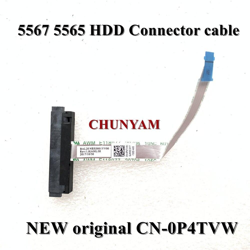 Новый оригинальный Соединительный кабель для жесткого диска Dell Inspiron 15 5000 5565 5567 0P4TVW P4TVW BAL20 NBX0001YV00