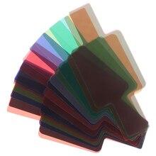 Универсальная вспышка камеры 20 фильтр цветных гелей рассеиватель карты Наборы Высокое качество