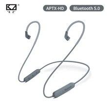 كابل وحدة ترقية البلوتوث اللاسلكي KZ aptX HD مع موصل 2Pin لـ KZ ZSN/ZS10 Pro/AS16/ZS10/AS10/AS06 CSR8675 IPX5 AAC