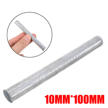 High Purity Zn 99.95% Zinc Rods 10mm Diameter with Anti-corrosion Rust-Resistant Anode Electroplating Round Bar 100mm Length