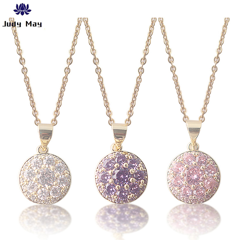 New Fashion Tiny Simple Jewelry Silver plated Charms Crystal Choker Necklace For Women Pendant Jewelry Accessories Gift(China)
