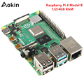 Newest Raspberry Pi 4 Model B 1gb 2gb 4gb Ram Bcm2711 Quad Core Cortex-a72 Arm V8 1.5ghz Support 2.4/5.0 Ghz Wifi Bluetooth 5.0