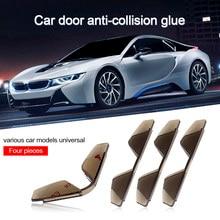 4 sztuk/partia Car Styling pcv ochronna krawędź do drzwi samochodu naklejka ochronna na drzwi samochodu drzwi Anti-Rub paski zabezpieczenie przed zarysowaniem drzwi samochodu dla BMW Audi Audi