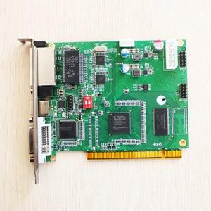 Image 4 - Linsn DS802d synchroniczna karta wysyłająca led kontroler wideo działa z rv908m32 karta odbiorcza do kontrolera ściana wideo led
