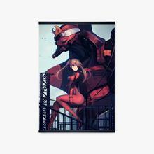Evangelion Unit-02 Machine Asuka Japan Manga Girls Poster Wall Art Print Canvas Painting Anime Picture Home Decor Bedroom Study