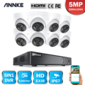 Система видеонаблюдения ANNKE, 8 каналов, 5 Мп, 5 в 1, H.265 + DVR