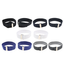 Men's Adjustable Shirt Arm Garter Band Sleeves Holder Armband Fashion Jewelry(China)