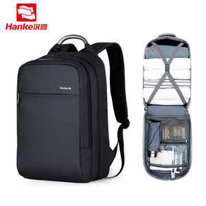 """Image 1 - 180° Patent Luggage Design Men Backpack Business Laptop Backpack Women Travel Bag 18"""" Expandable RFID Anti theft H6758"""