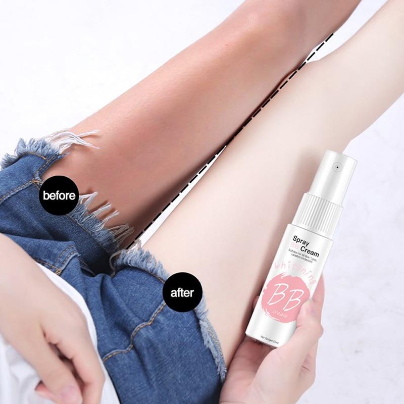 BB крем для лица, увлажняющий тональный крем, отбеливающий корейский макияж, портативный отбеливающий спрей, CC крем, косметика для красоты, TSLM1|BB и CC-кремы|   | АлиЭкспресс