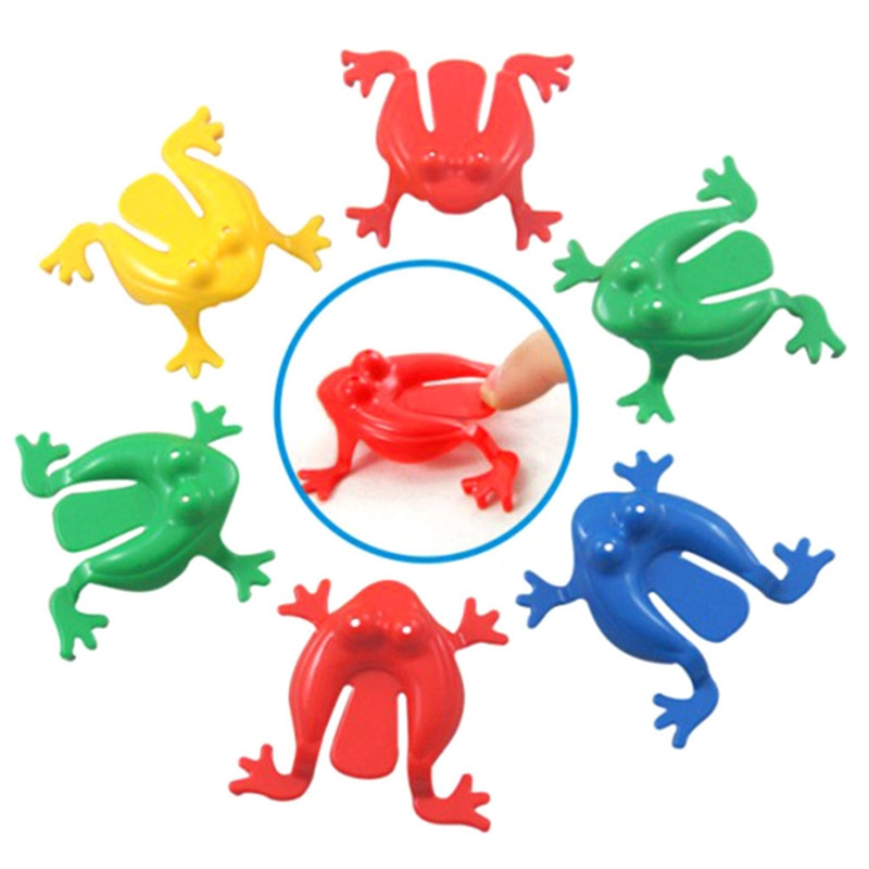 Action-Figure Family-Game-Toy Educational-Toys Plastic Kids ABS Frogs for Children Jumping