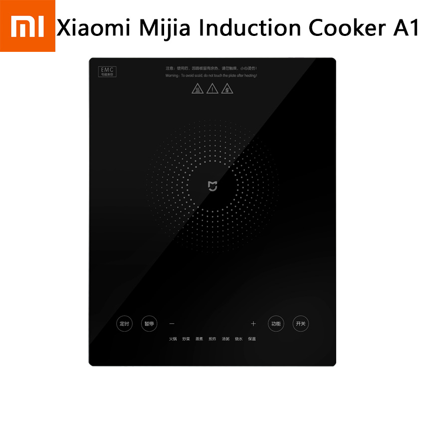 New Xiaomi Mijia Induction Cooker A1 2100W Strong Power Electric Oven Plate Creative Precise Control Cookers Cooktop Plate