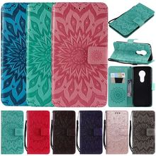 Leather Flip Phone Wallet For Case iPhone XR X XS 11 Pro Max 2019 6 6S 7 8 Plus 5 5S SE Mandala Frame Business Stand Cover E05F