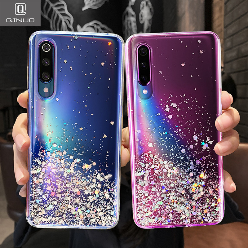 Soft Shiny Bling Case For Xiaomi Redmi Note 8T 8 Pro Note 7 6 5 Pro K30 K20 Pro 8 8A 7 7A 6A 5A 4X GO Sequin Glitter Cover Coque