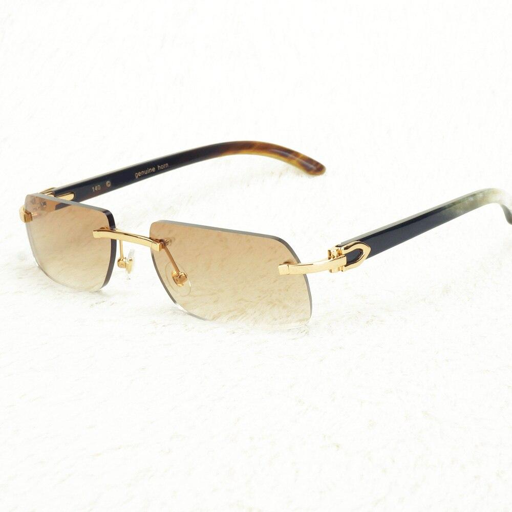 Trendy Sunglasses Men Carter Glasses Women 3mm thick Italic Shape Lenses for Driving Luxury Sun Glasses Frame for Travelling
