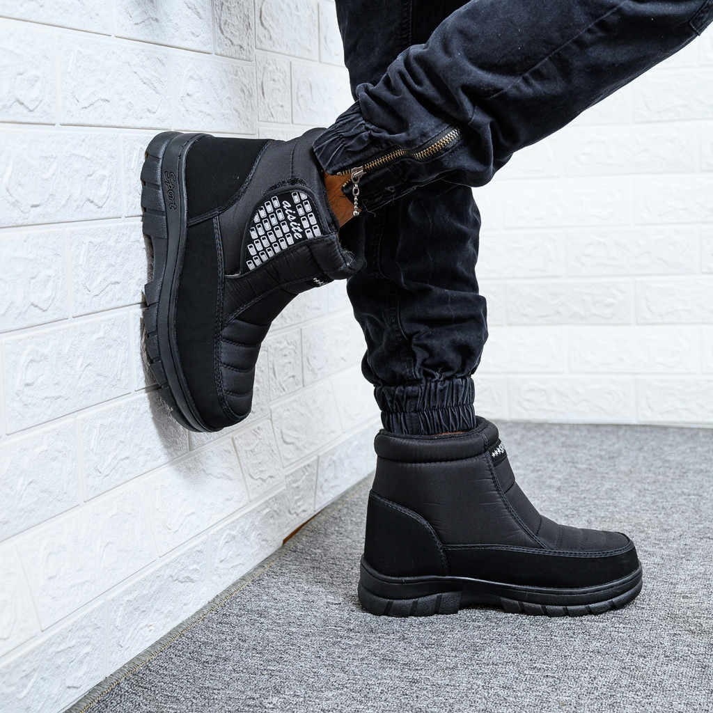 Antislip Warme Heren Schoenen Winter Snowboots Mens Werk Schoenen Plus Fluwelen Winter Mannen Laarzen Waterdicht Comfortabele Zapatillas Hombre