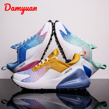 Autumn and Winter New Colourful Couple Running Shoes Fashion Comfortable Sports Walking Jogging Leisure