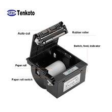 RS232 80 мм панель Термальный чековый принтер модуль серийный встроенный Печатный USB киоск печать 3-дюймовый счет-фактура принтер