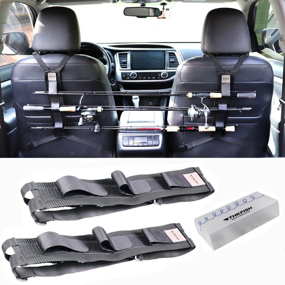 2pcs Vehicle Fishing Rod Holder Fishing Rod Carrier For Vehicle Seat Car Fishing Rod Holder Tackle Tool