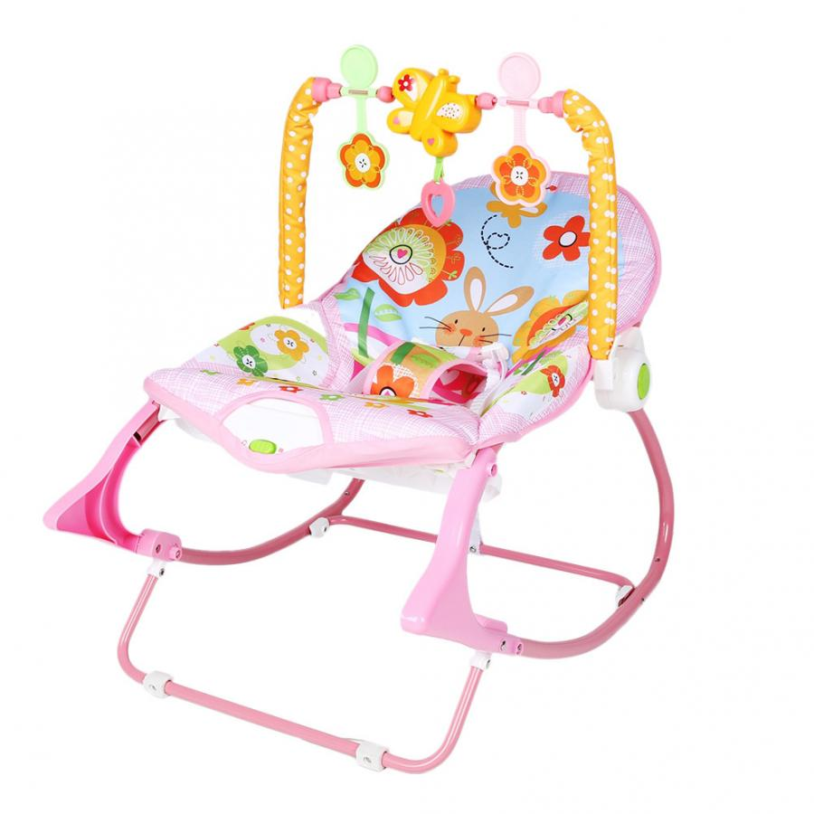He228401efb294c489ba1e5b665a4c9d6H Infant Baby Rocker Electric Rocking Chair Cradle Newborn Comfort Vibration Rocking Chair Soothing The baby's Artifact Sleeps