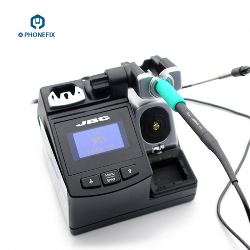 Tools : PHONEFIX Original JBC CD-2SHE Precision Soldering Station with T210-A Handle for Motherboard Soldering Repair Mobile Tool
