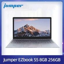 Jumper ezbook s5 14.0 Polegada 8gb ram 256gb ssd cpu n3450 1920*1080 fhd ips 1.25kg luz 4600mah windows 10 notebook windows computador portátil