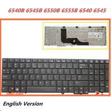 Laptop English Keyboard For HP Probook 6540B 6545B 6550B 6555B 6540 6545 Notebook Replacement layout Keyboard