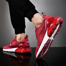 2019 Mens Mesh Breathable Sports Shoes Air Max Red Black Whi