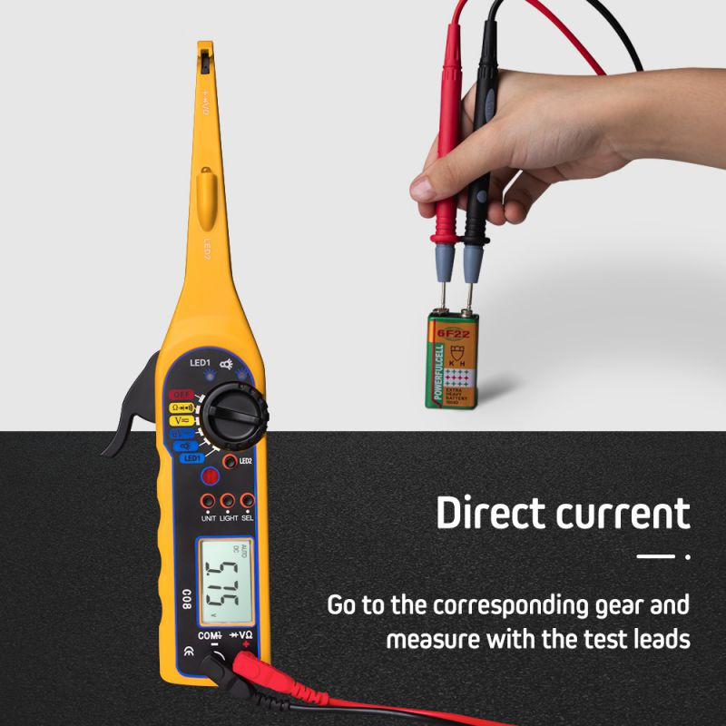 1PCS Automobile Circuit Tester Multi-function Car Auto Power Electric Circuit Tester automotive circuit tester