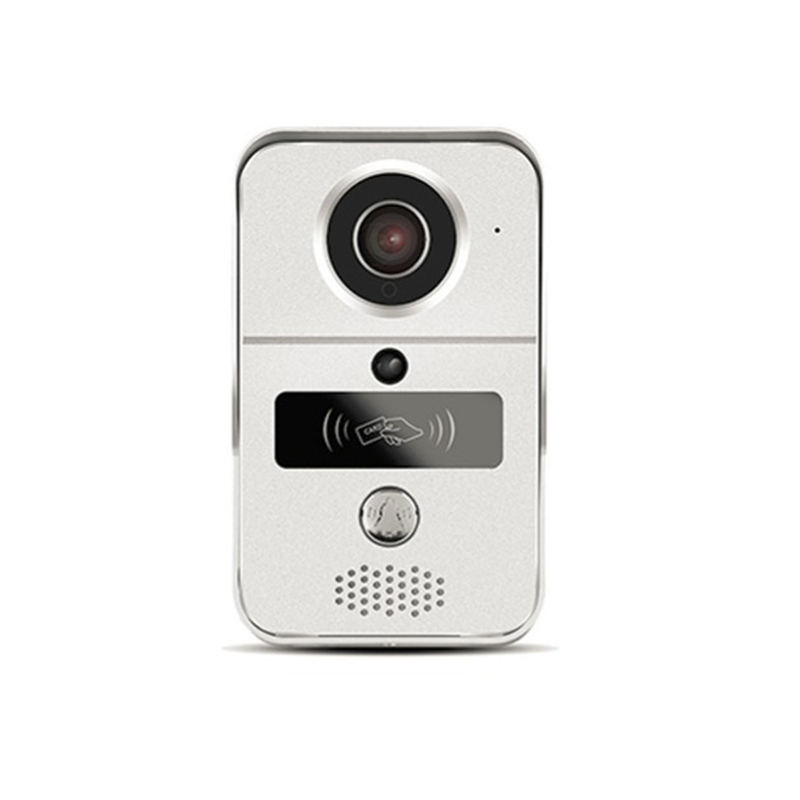 Remote Wireless WiFi Video Doorbell Alarm Video Card Camera