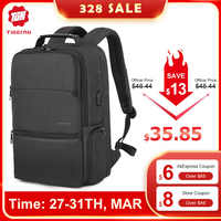 """New Tigernu Man Laptop Backpack Fit 19"""" Expandable backpack Travel Men Male Backpack Anti thief Mochila With RFID"""