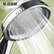 Nozzle Shower-Head Bathroom-Accessories ABS Rainfall Chrome Pressurized Water-Saving