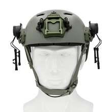 Тактический шлем ops core rail arc track adapter comtac bracket