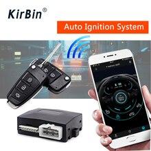 Sistema inteligente do carro, sistema de ignição automática com botão de parada de partida, proteção de segurança para o carro, alarme de carro pke, carro de travamento central