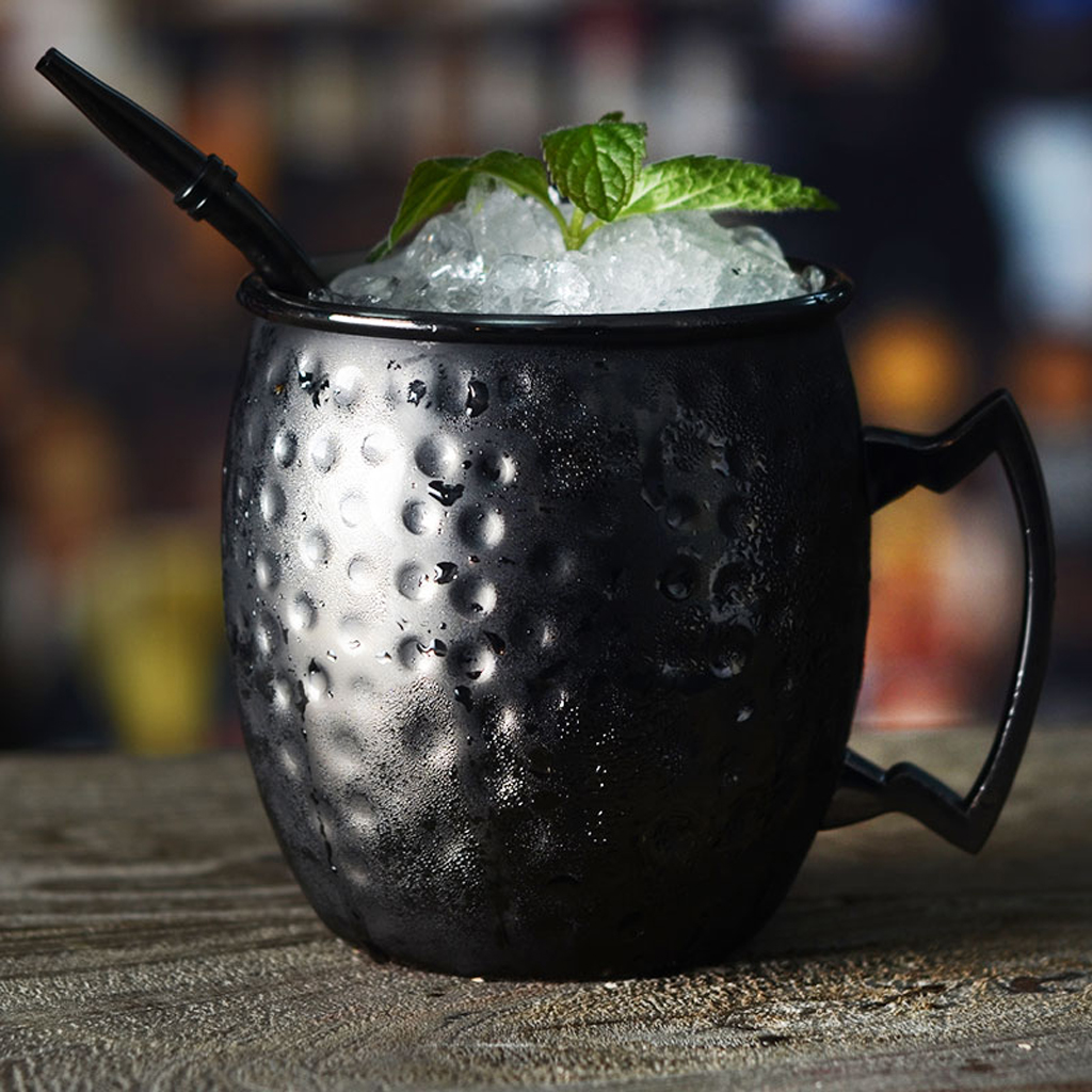 Moscow Mule Mug Cup Handmade Hammered Moscow Mule Mug With Brass Handle
