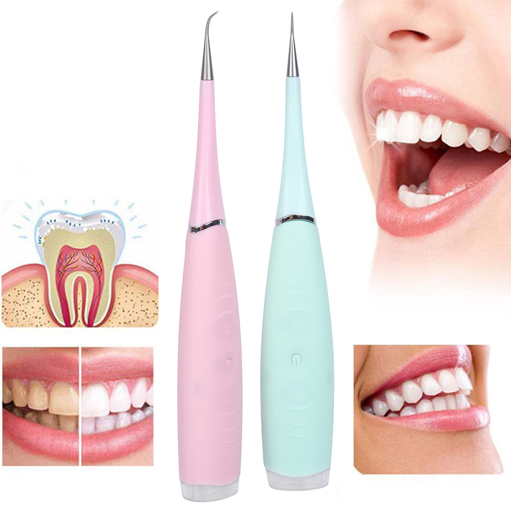 Vibrition Sonic Dental Scaler Usb Recharge Eletric Toothbrush Calculus Remover Tooth Stains Tartar Cleaner Tool Whiten Teeth