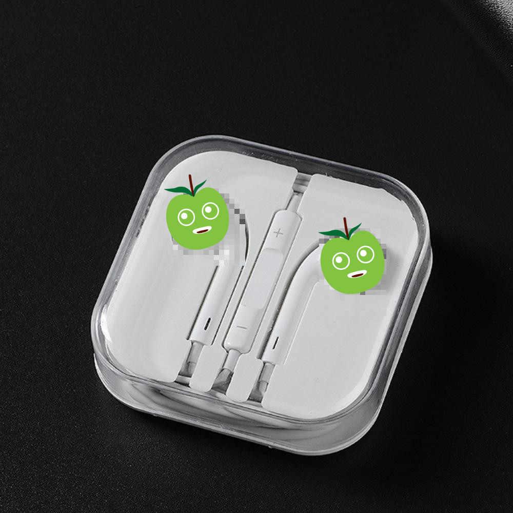 Uniwersalne słuchawki sportowe 3.5mm douszne słuchawki douszne Stereo słuchawki z mikrofonem do Samsung huawei Xiaomi iPhone 6