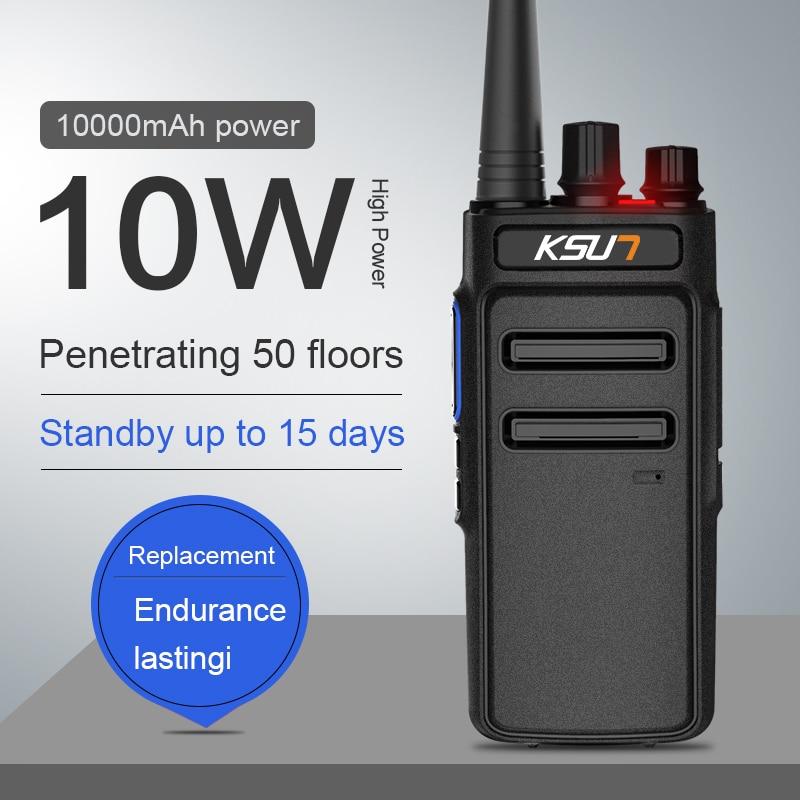 KSUN KSX70 Walkie-talkie Outdoor High-power Handheld Mobile Phone 50 Civilian Mini Self-driving Tour Km
